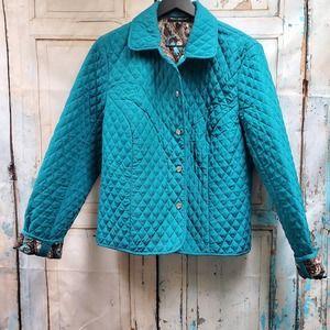 Briggs New York Quilted XLP Blue Jacket